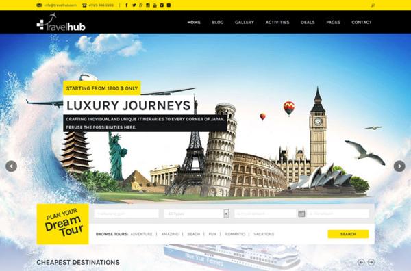 Thiết kế website du lich