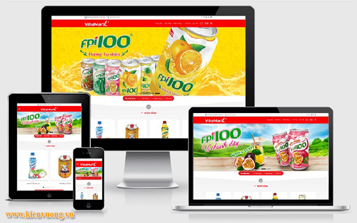 Thiết kế website công ty mới thành lập