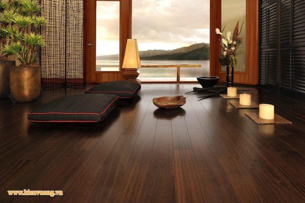 Thiết kế web bán sàn gỗ sang trọng