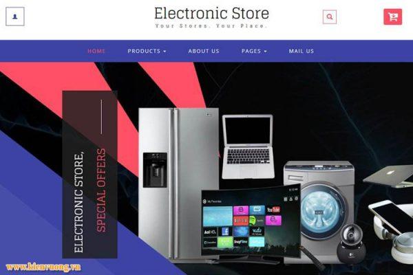 Thiết kế website bán thiết bị điện tử