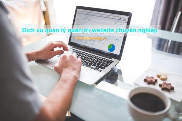 Dịch vụ quản lý quản trị website chuyên nghiệp