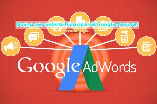 Quảng cáo website hiệu quả với Google Adwords