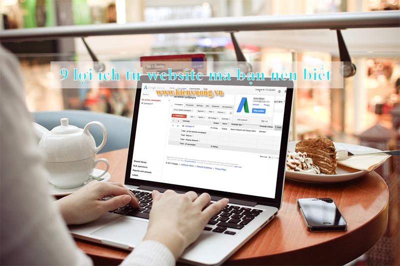 9 lợi ích từ website mà bạn nên biết