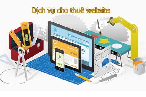 cho thue website