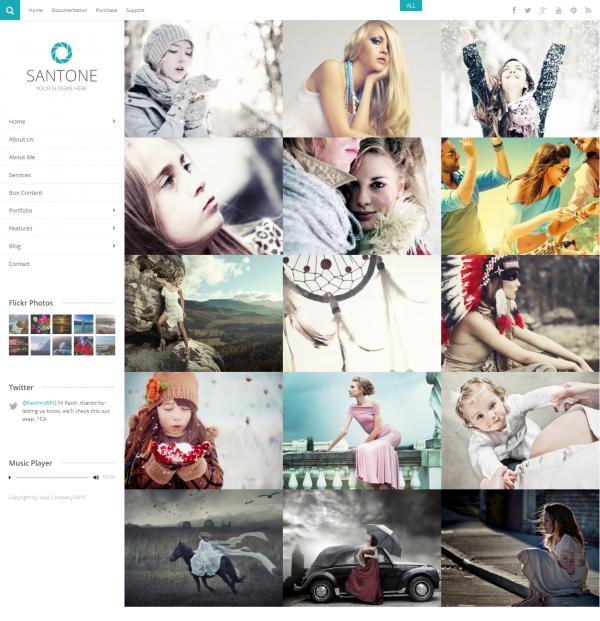 mẫu website ảnh viện, studio áo cưới