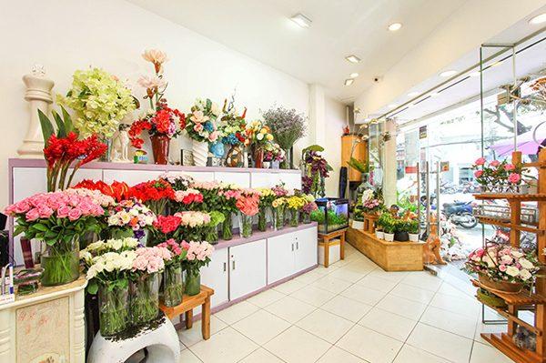 Thiết kế web shop hoa tươi đẹp