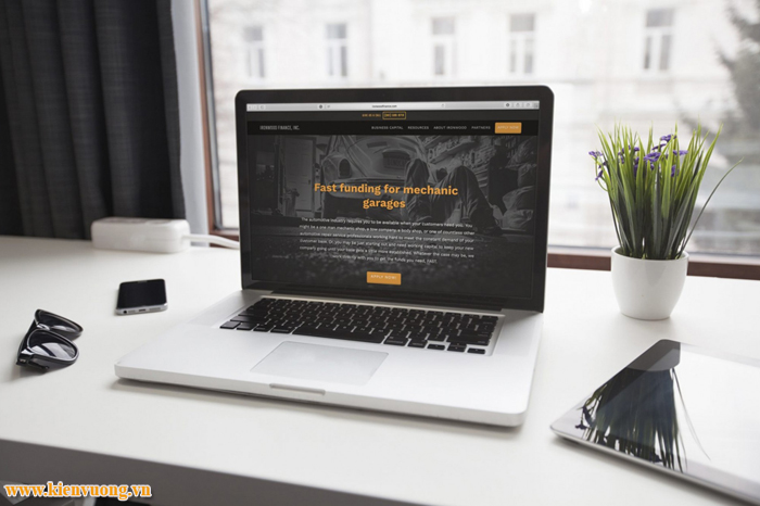 Thiết kế website bán hàng hiện đại