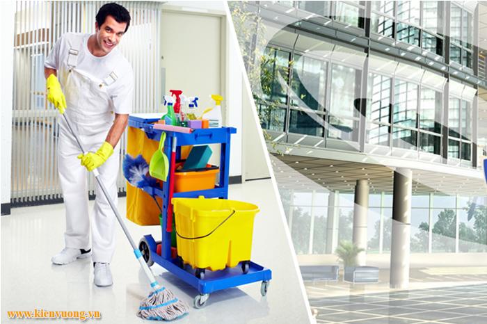 Thiết kế website dịch vụ vệ sinh