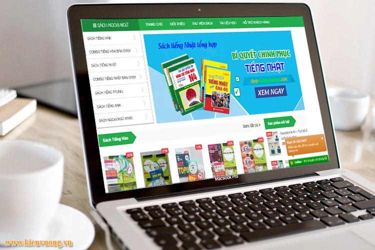 Thiết kế website bán sách online