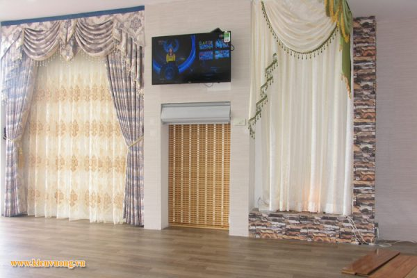 Thiết kế web bán rèm màn cửa, giấy dán tường