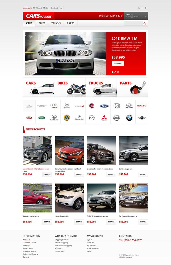 Thiết kế website bán xe hơi, ô tô