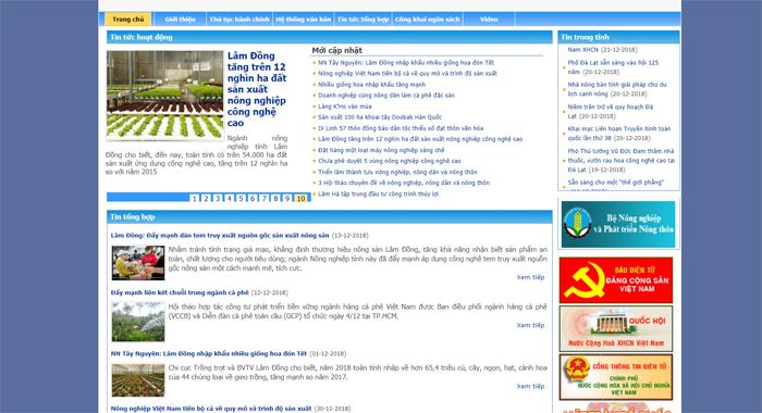 Thiết kế website ở thành phố Đà Lạt