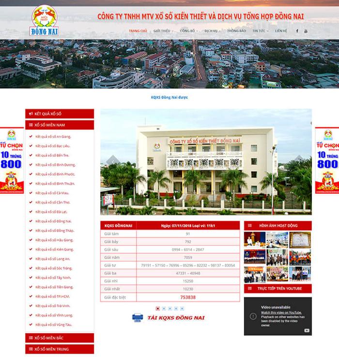 Thiết kế website ở Biên Hòa