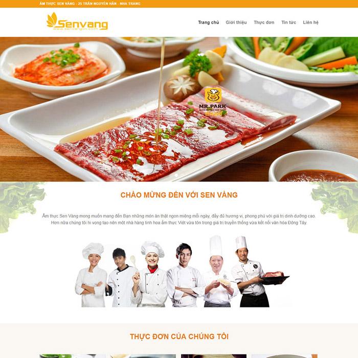 Thiết kế website theo mẫu sẵn giá rẻ