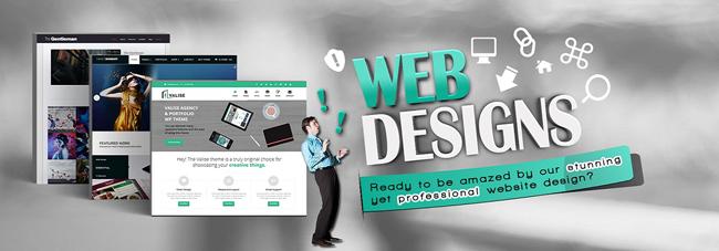 Thiết kế website đẹp sang trọng