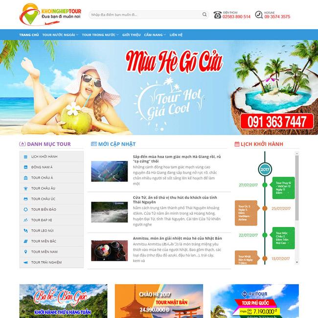 Thiết kế website trọn gói chuyên nghiệp