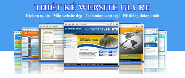 Dịch vụ thiết kế website trọn gói giá rẻ tại Tp Hồ Chí Minh