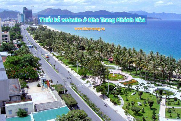 Thiết kế website ở Nha Trang Khánh Hòa