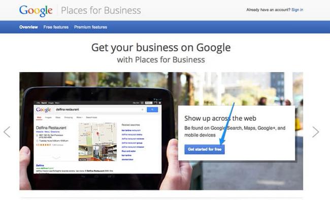 Dịch vụ tạo địa điểm trên bản đồ Google maps