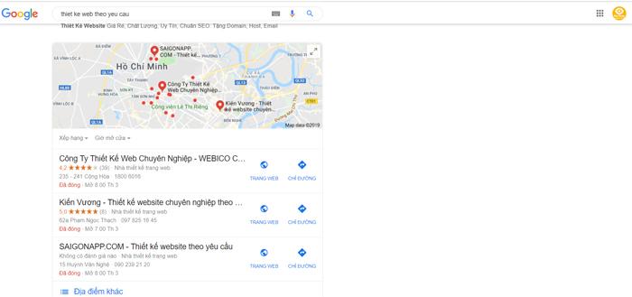 Dịch vụ verify Google Maps