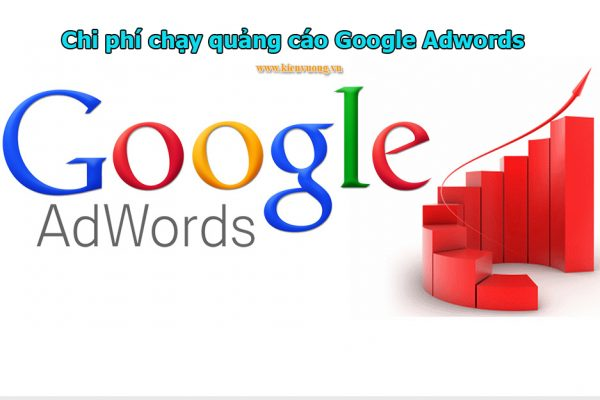 Chi phí để chạy quảng cáo Google Adwords