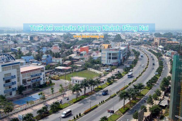 Thiết kế website tại Long Khánh Đồng Nai