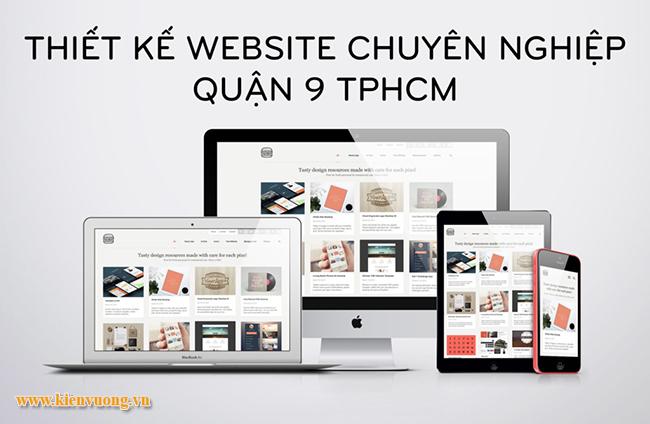 Dịch vụthiết kế website quận 9 trọn gói
