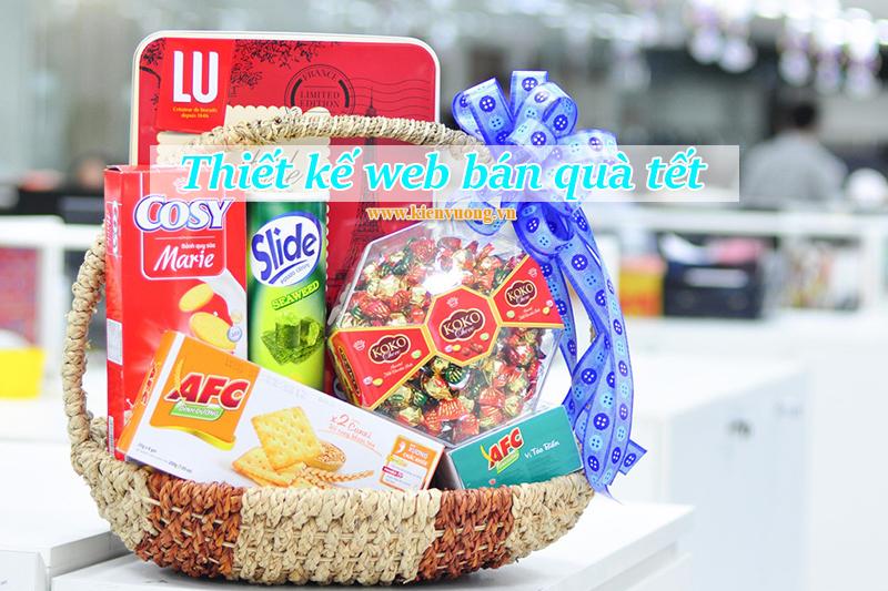 Thiết kế web bán quà tết