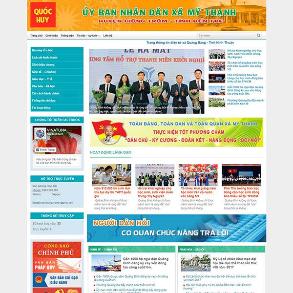 Thiết kế website cơ quan nhà nước