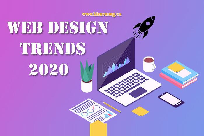 5 xu hướng thiết kế website năm 2020