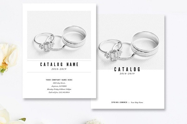 Mẫu catalog trang sức - Nhẫn