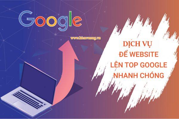 Đưa trang web lên Google