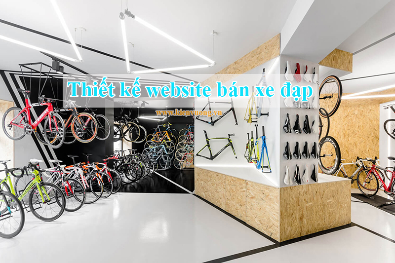 Thiết kế website bán xe đạp