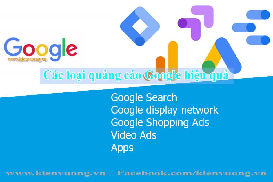 Các loại quảng cáo Google