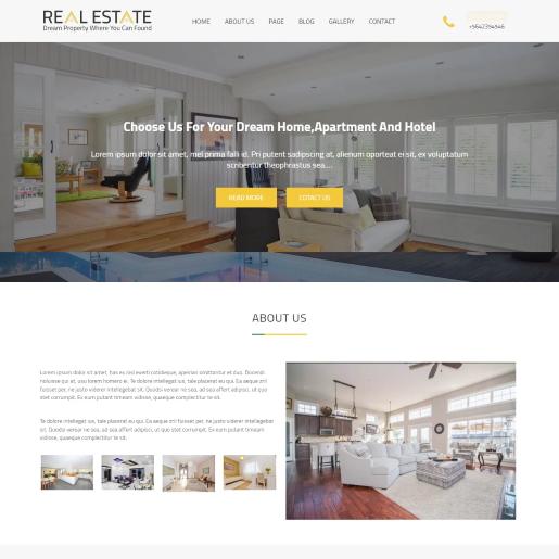 Real Estater – Mẫu Theme bất động sản WordPress miễn phí đẹp đang hot