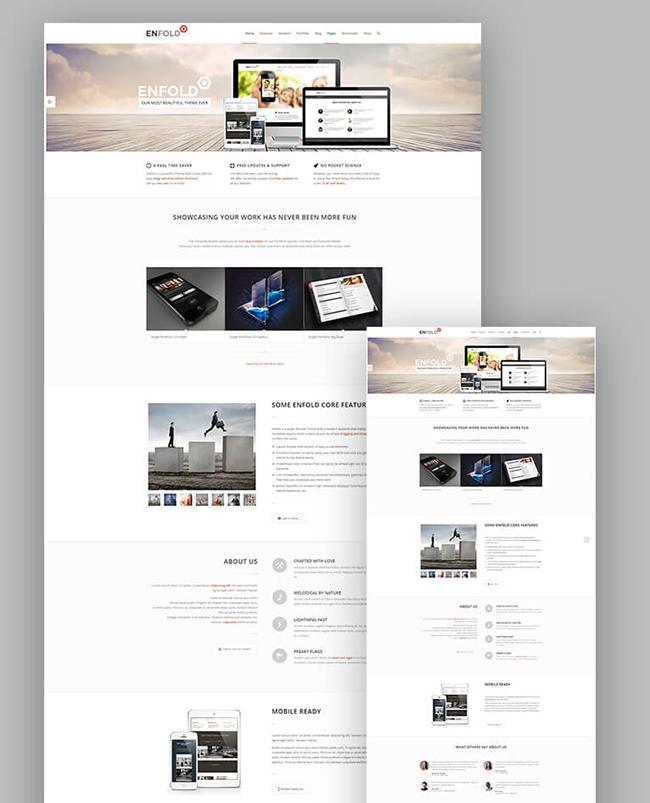 Enfold - Theme Responsive sáng tạo cho WordPress