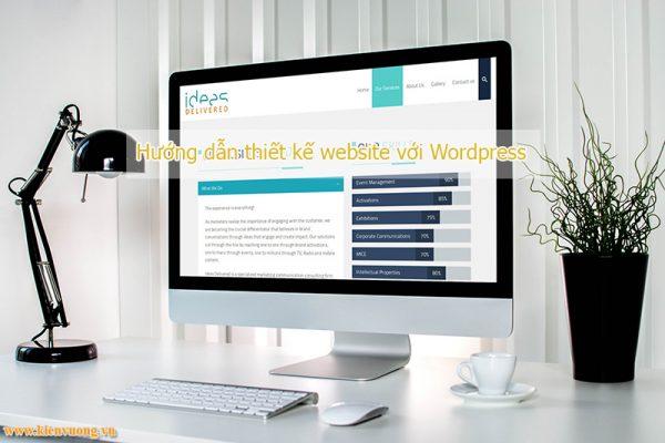 Hướng dẫn thiết kế website với Wordpress