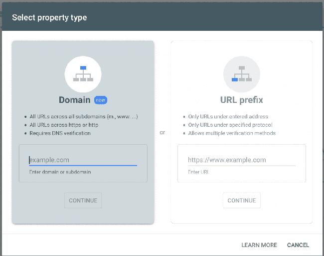 Cách xác thực Google Seach Console cho website