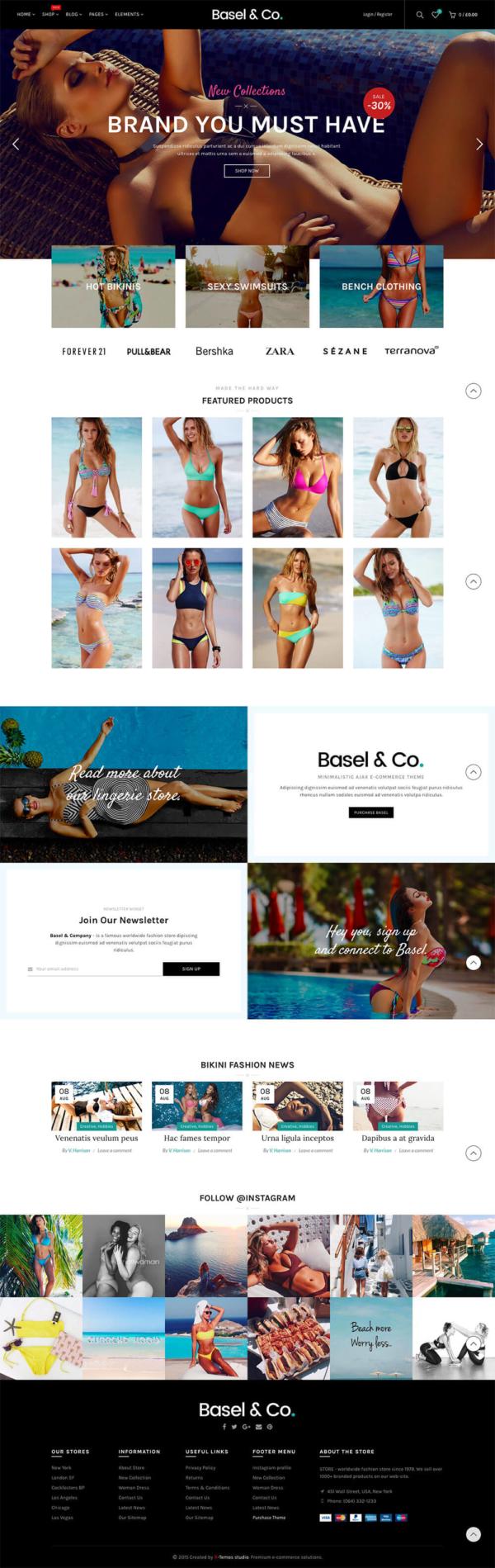 Thiết kế website bán bikini