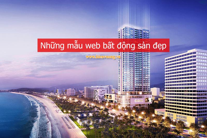 Web bất động sản đẹp