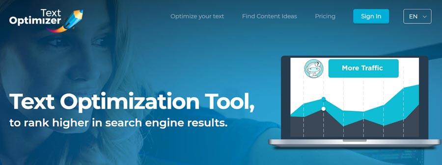 Công cụ kiểm tra bài viết chuẩn SEOText Optimizer