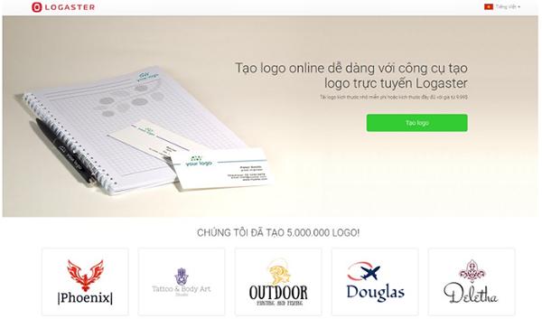 Cách thiết kế logo với Logaster