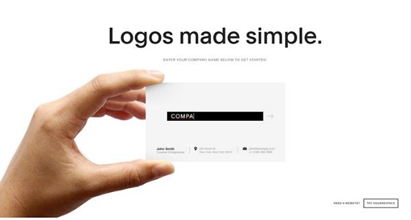 Cách thiết kế logo với Squarespace
